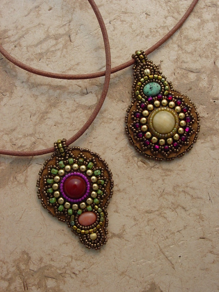 461 best tutorials beaded pendants images on pinterest bead pendants by heidi kummli aloadofball Images