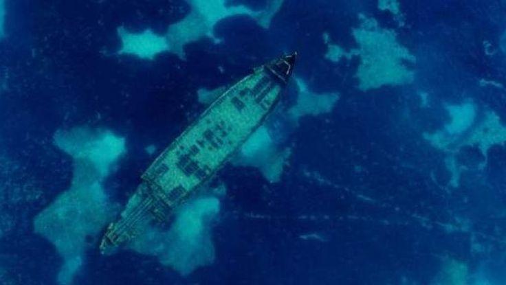 Μυστηριώδες ναυάγιο κοντά στη Λεμεσό -Το ανακάλυψε τυχαία ένα drone - kalymniansvoice.com