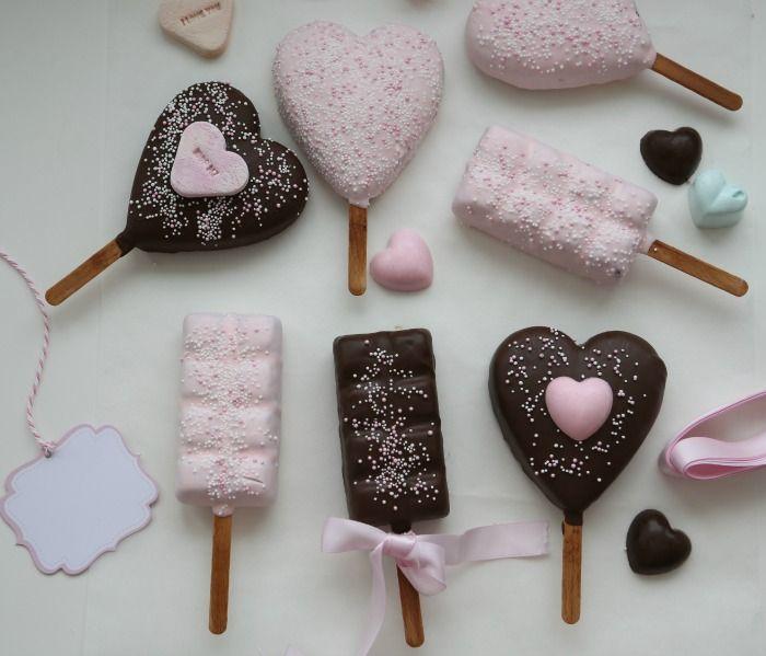 Mulig kaker til dåp - Delicious Brownies Pops