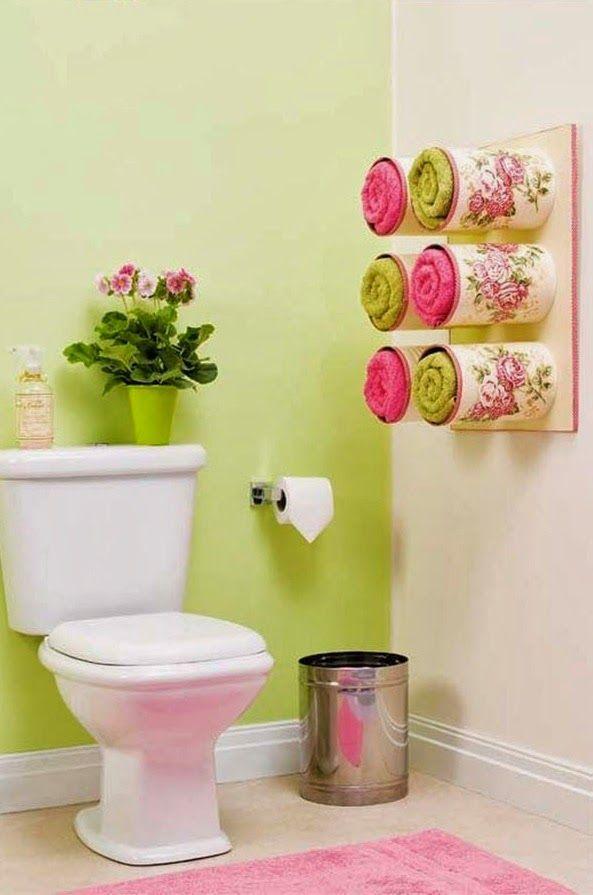 KoloDIY Decor: Хранение полотенец в ванной