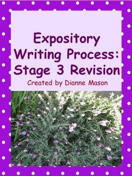 $8.00 From this Power Point presentation, high school or college students will learn how to revise an essay in order to clarify their ideas, to make connections between those ideas, and to increase the readability of their work. The presentation focuses on 6 crucial essay revision areas: quality of evidence, organization, transitions, sentence fluency, word choice, and voice. It includes many examples for each area.