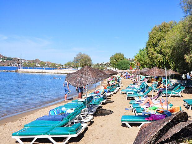 Yalikavak Beach near Bodrum, Turkey