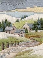 Kit de Inverno Cottage Ponto Longo De Derwentwater Designs
