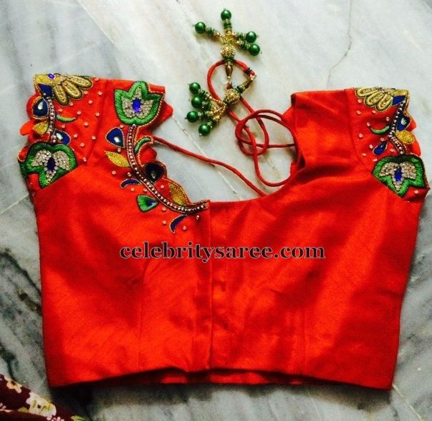 Thread Work Blouse For Sale