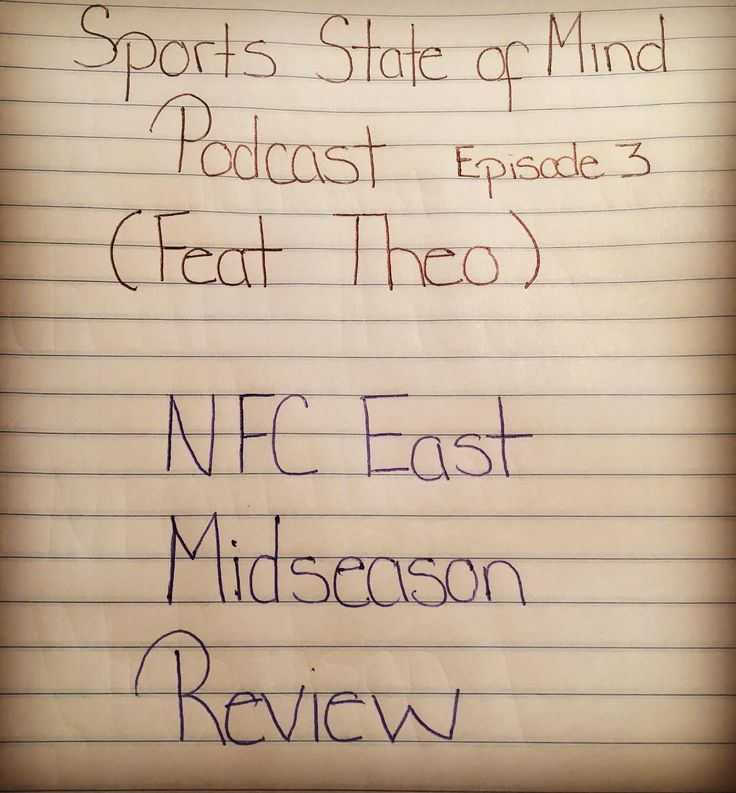 In episode 3 I sit down with the biggest Dallas Cowboys fan that I know. @jaykartandclu todays guest and I will discuss all latest news coming out the  NFC East as well as personal views about each team. Are the Eagles for real? How bout those Cowboys? HTTR! (Hail to the Redskins)  and  whats up with the  1-7 NY Giants ? and more. So sit back and enjoy. Lastly do not forget to comment and follow us on Soundcloud Sports State Of Mindd and Twitter: SSMPodcast.We hope you enjoy. The link is in…