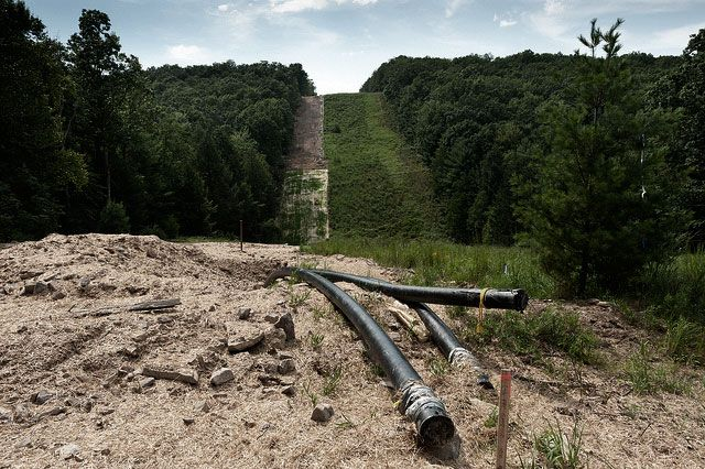 New and protracted battles in the fracking war are breaking out near the Marcellus Shale over pipeline companies' use of eminent domain.
