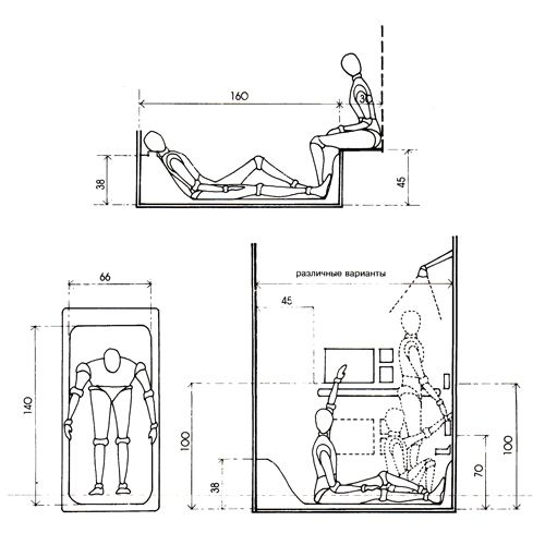 Проектирование ванных комнат. Эргономика | Live-design