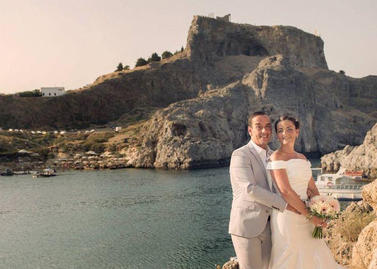 Rachael & Kevin 13 August 2014  www.happilyeverafter.gr