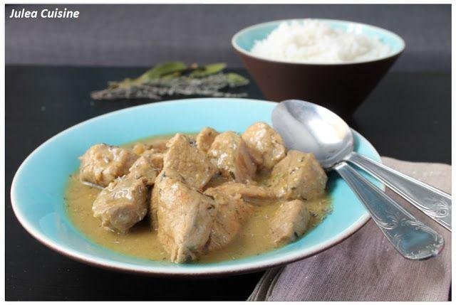 Julea Cuisine - Ma petite cuisine au quotidien: Sauté de veau à la moutarde {Version mijotée ou ex...