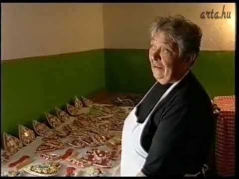 Kárpátok tájain sorozat (18/24) - A mézeskalács készítése - YouTube