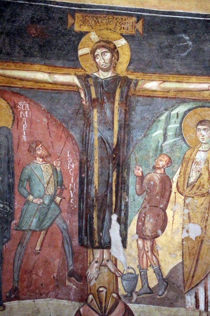 Santa Maria Antiqua, Roma, gli affreschi. 741-752
