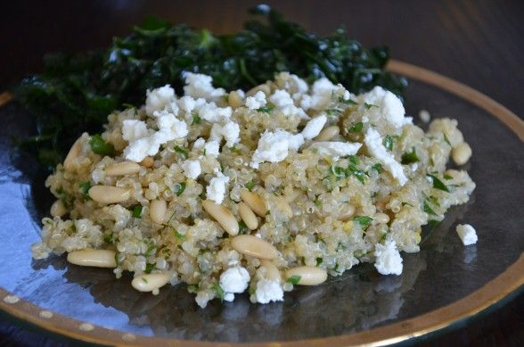 Lemon and cumin quinoa | Recipes I'm Excited About! | Pinterest