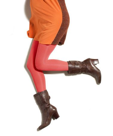 This Shake-Rattle-Rose Maternity Compression Pantyhose by Preggers is perfect! #zulilyfinds
