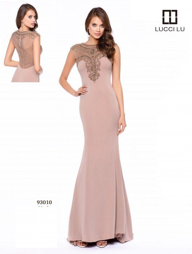 LUCCI LU 93010 Size 4 and Size 18 #Mocha  #LucciLu #Prom #Prom17 #Prom2017 #PromDress