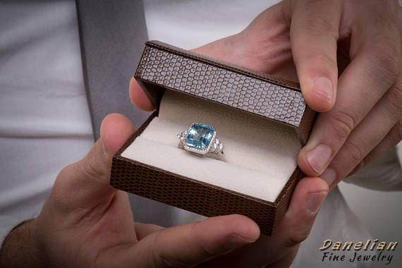 2018 brings special moments... for engagement, anniversary or wedding. Our goldsmith workshop successfully delivers the ideal solution and creates custom jewelry based on your dreamed pieces. Either with a unique gemstone or a unique design. #diamond #wedding #engagement #bridetobe #jewellery #aquamarine #proposal #trend2018 #custom #goldsmith #workshop #athens #danelian #jewelry #fashion #gold #whitegold #etsy #diamondring