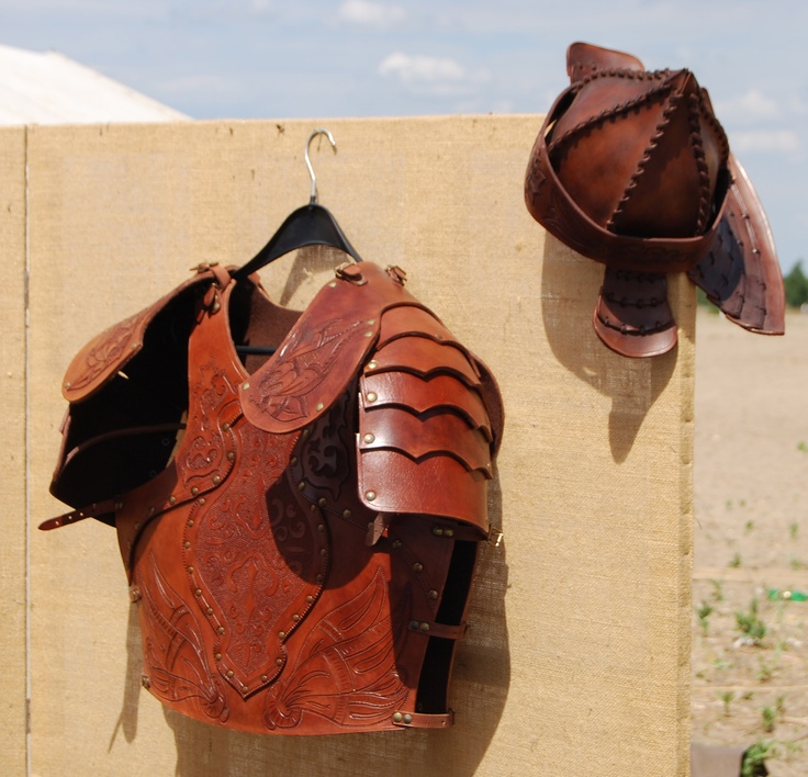 Leather armour, Attila the Hun style!