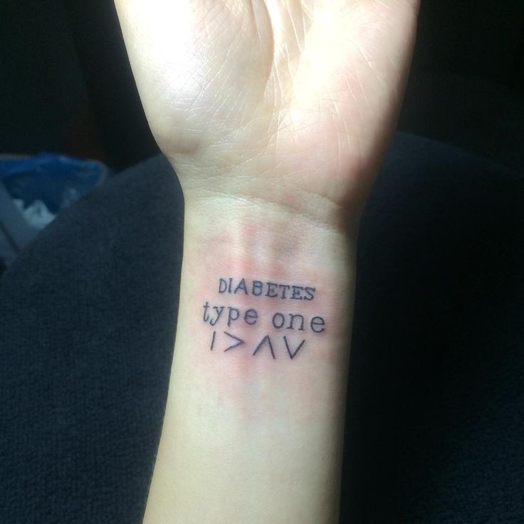 25 b sta diabetes tattoo id erna p pinterest type 1 for Type 2 diabetes tattoo