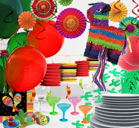175 best fiesta fun images on pinterest mexican fiesta - Mexican themed party decoration ideas ...