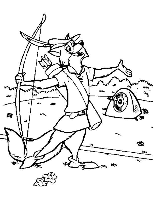 robin hood coloring pages  best coloring pages for kids