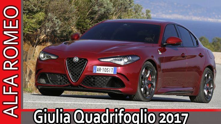 Alfa Romeo Giulia Quadrifoglio 2017 / Альфа Ромео Джулия Квадрифолио 201...
