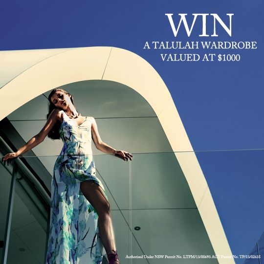 Win a $1000 wardrobe from Talulah!