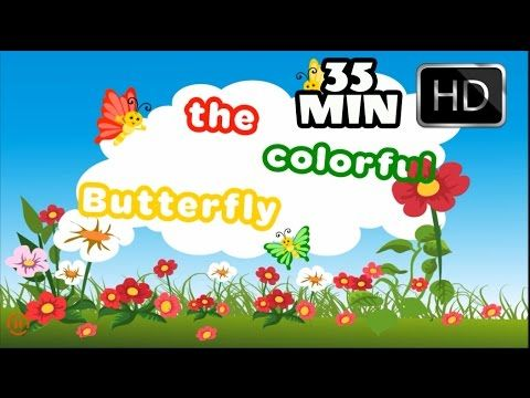 Butterfly Colors Song 3 and Plus 24 Top Nursery Songs | From Beebo World