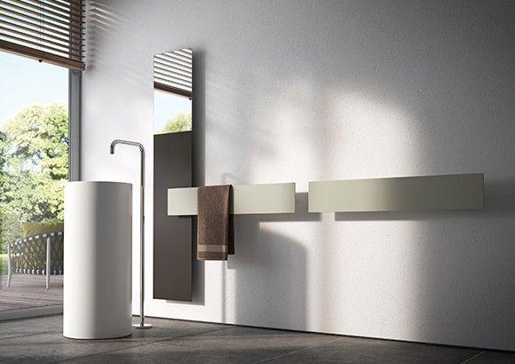 mirror radiator and ultra-slim designer heating