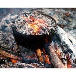 QVIST Outdoor Cooking Dutch Oven Kookboek met recepten op: http://www.qvist.nl/media/Qvist_buitenkookboek_2011-1_NL.pdf