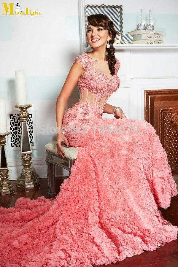154 best vestidos de fiesta, boda, novias... galeria images on ...
