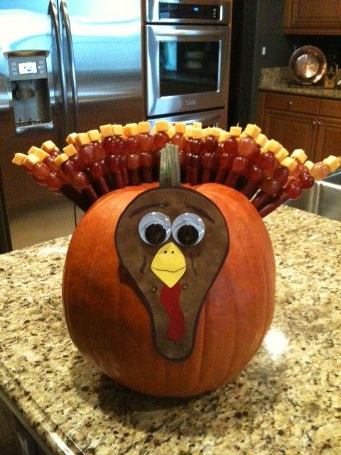 Great way to present your Thanksgiving tailgate appetizers!