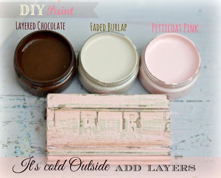 How to Layer Chalk Type Paint | Jewelry Box Makeover