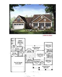 the 25 best bungalow floor plans ideas on pinterest - Bungalow Floor Plans