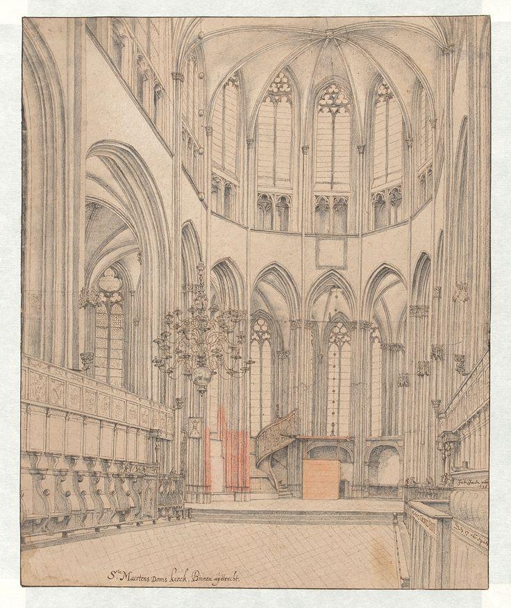The Choir of Utrecht Cathedral, Pieter Saenredam, 1636 John and Marine van Vlissingen Art Foundation