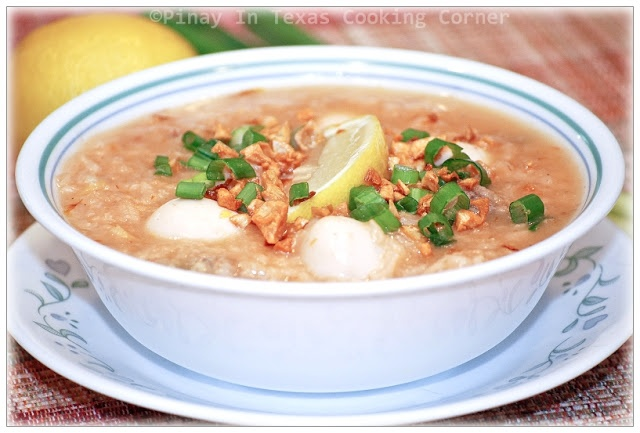 how to cook chicken arroz caldo
