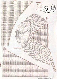 Crochet bikini pattern