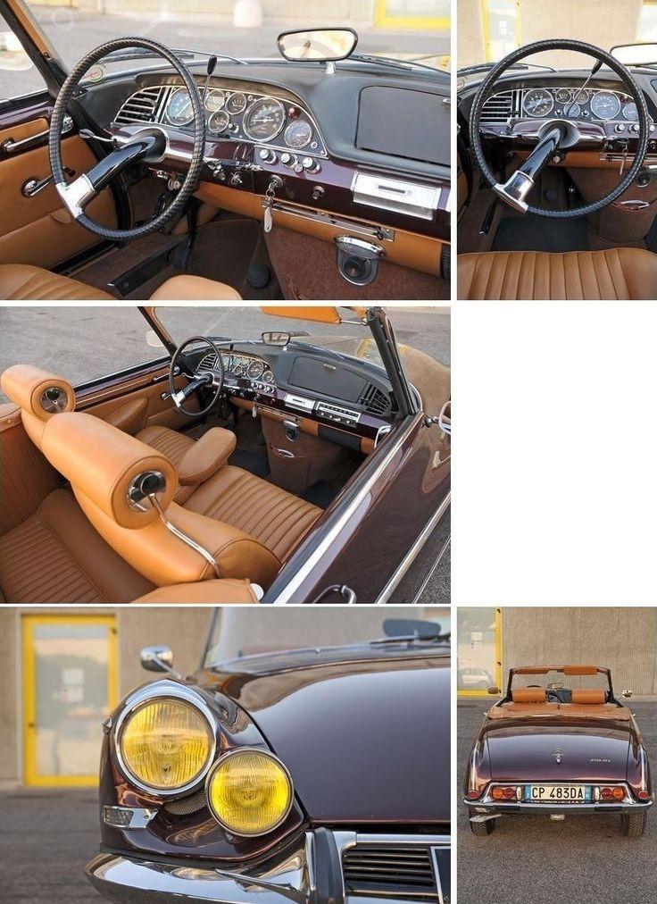 Citroën DS21 Le Caddy by Henri Chapron 1966| #> https://de.pinterest.com/dutchjoe/citro%C3%ABn-by-henri-chapron/