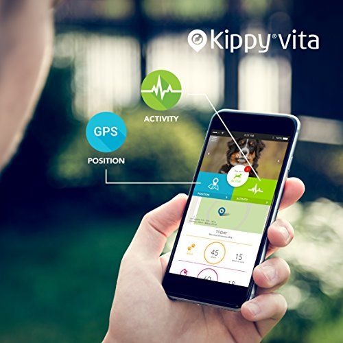 Kippy VITA - GPS Tracker and Activity monitor for pets | Dog Gadgets Store