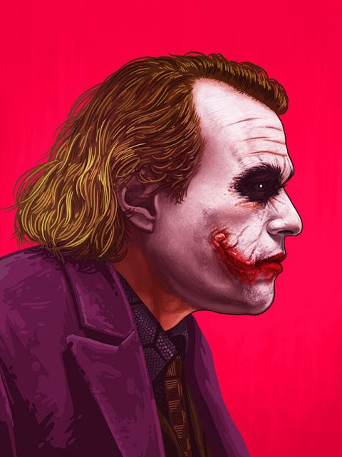 'The Joker' by Mike Mitchell