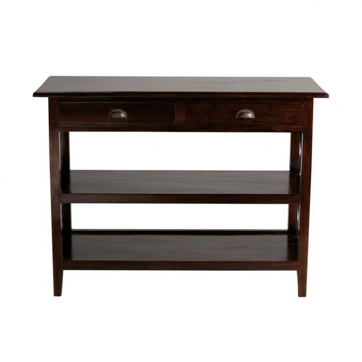 console beton maison du monde meuble tv en mtal blanc l. Black Bedroom Furniture Sets. Home Design Ideas