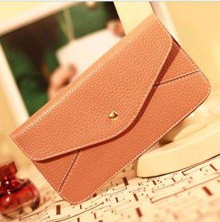 Min Order $20 (mixed order) Fashion  kissme PU large wallet card holder  (BM) $6.10