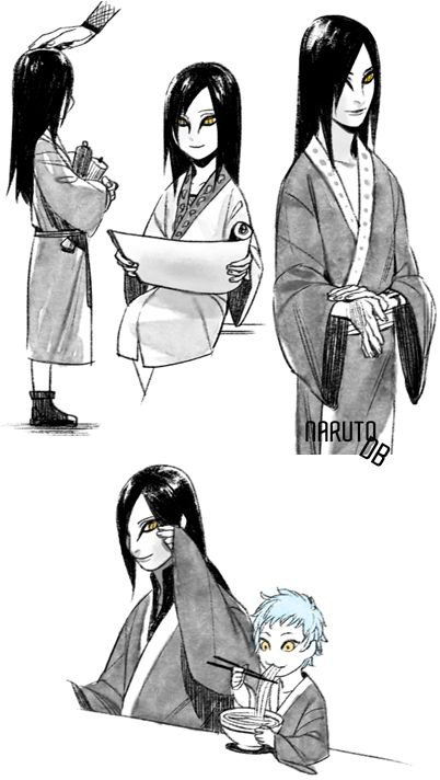 Orochi 〖 TAGS: Naruto Orochimaru Mitsuki 〗 Oh mygod,why does he have to look so cute when he was younger