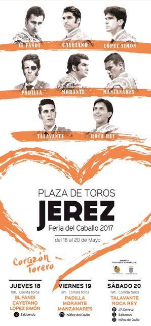 mastertoro.com: Cartel de la Feria del Caballo 2017 de Jerez