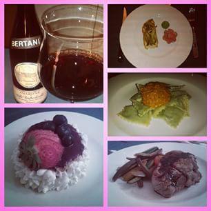 #sanvalentino #valentinesday #bemyvalentine #valentine  my personal #chef  #instafood #food #cucina #casalinga #mypersonalchef #masterchef #homemade #bertani #wine #vino #amarone