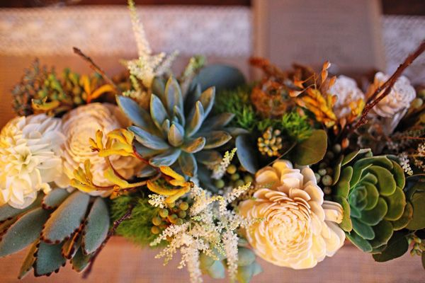succulent-desert wedding