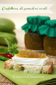 Ricetta Confettura di pomodori verdi al basilico e peperoncino