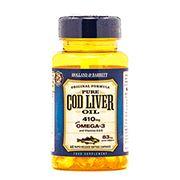 Holland & Barrett Cod Liver Oil Capsules 410mg