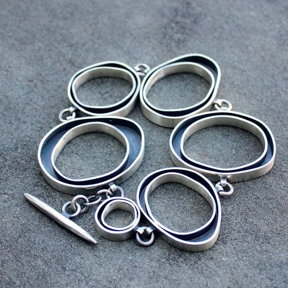 Sterling+Bracelet++Silver+Bracelet++Sterling+Silver+by+lsueszabo,+$685.00