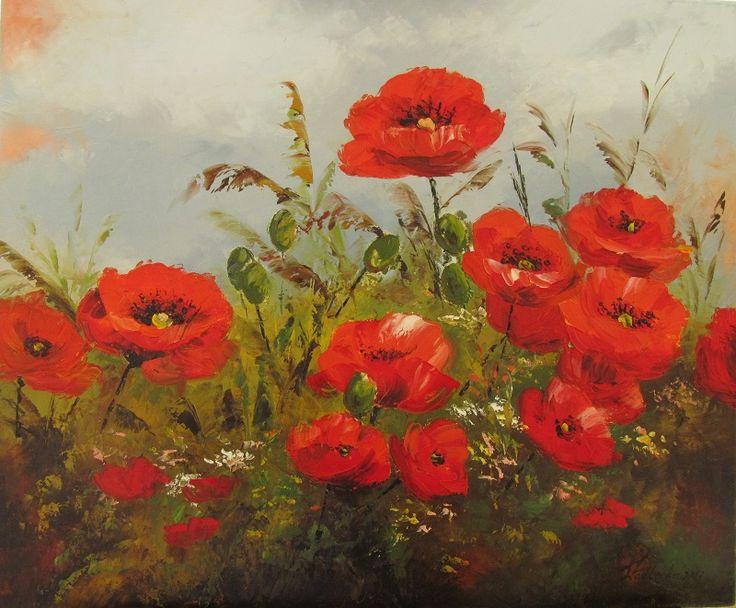 Poppies. W. Podlecka