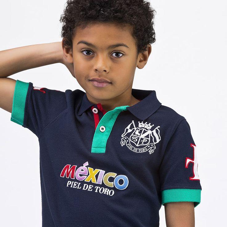 Enamorados de México desde muy pequeños http://tienda.pieldetoro.com/nino-polos/332-nino-polos-37-132215.html