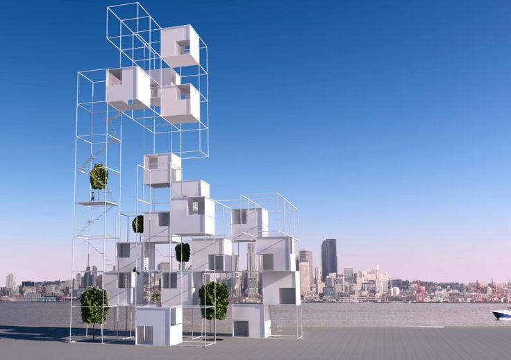 Atelier Zafari.Architecture | cube house 14